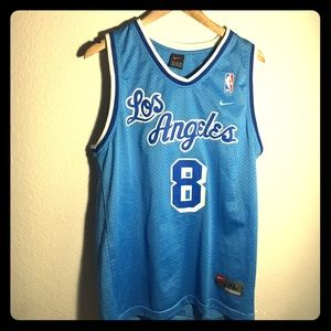on sale f5524 d6030 Vintage Nike Baby Blue LA Lakers Jersey (Kobe #8)